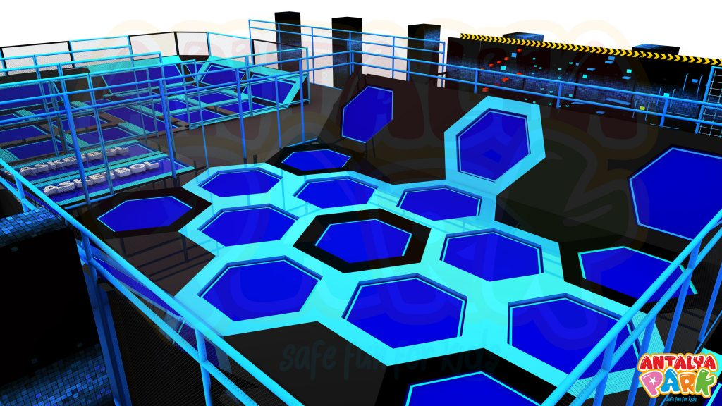 SCM FOR TRAMPOLINE PARK MANUFACTURER
